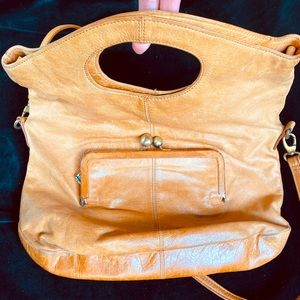 Hobo brand leather crossbody/clutch